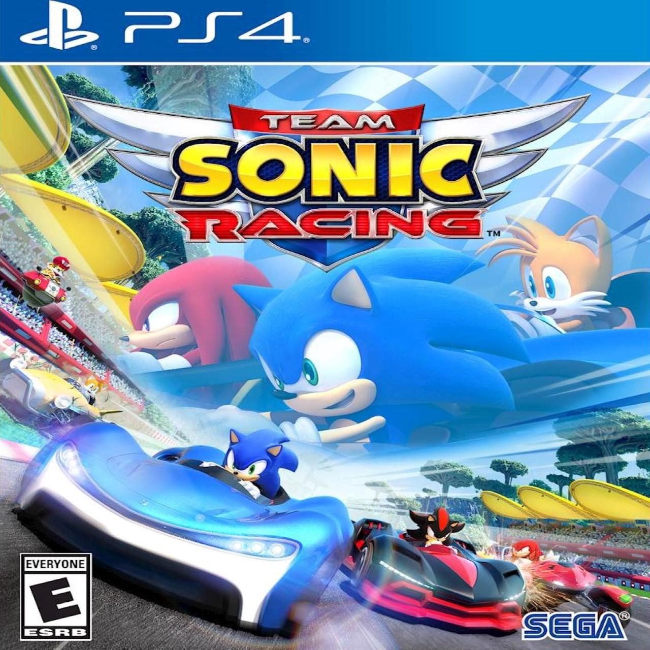 Sonic Team Racing PS4 RUS