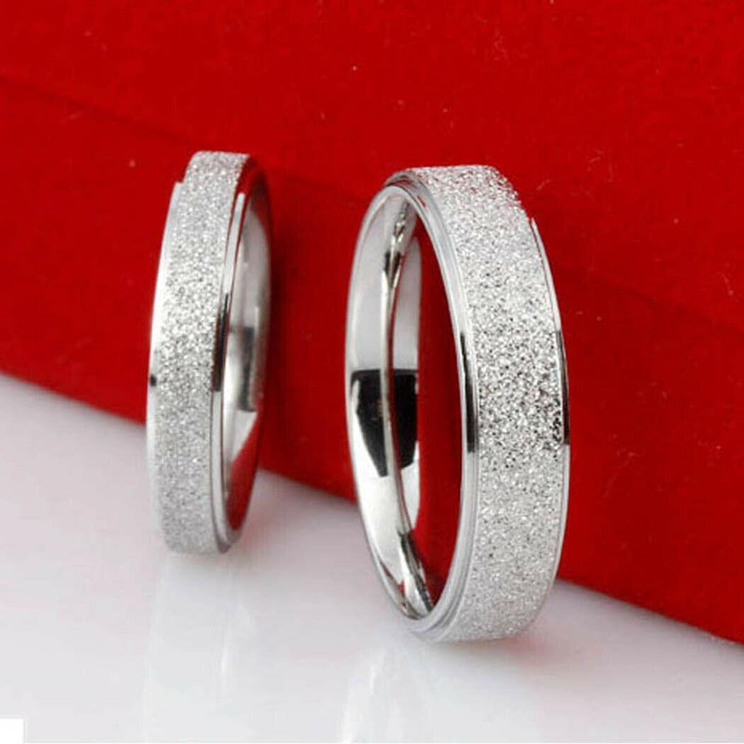 """Кольцо из нержавеющей стали, """"Обручальное"""", комплект 2 шт., 19 размер, 1126КЖ"""