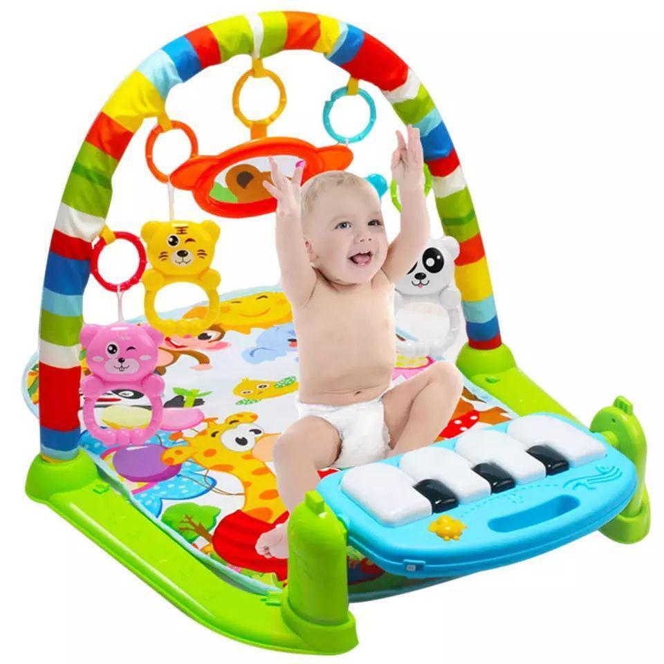 Детский игровой коврик-пианино Юный гений