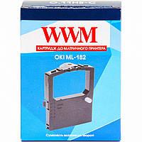 Картридж WWM для OKI Black (O.11HS-C) безшовний