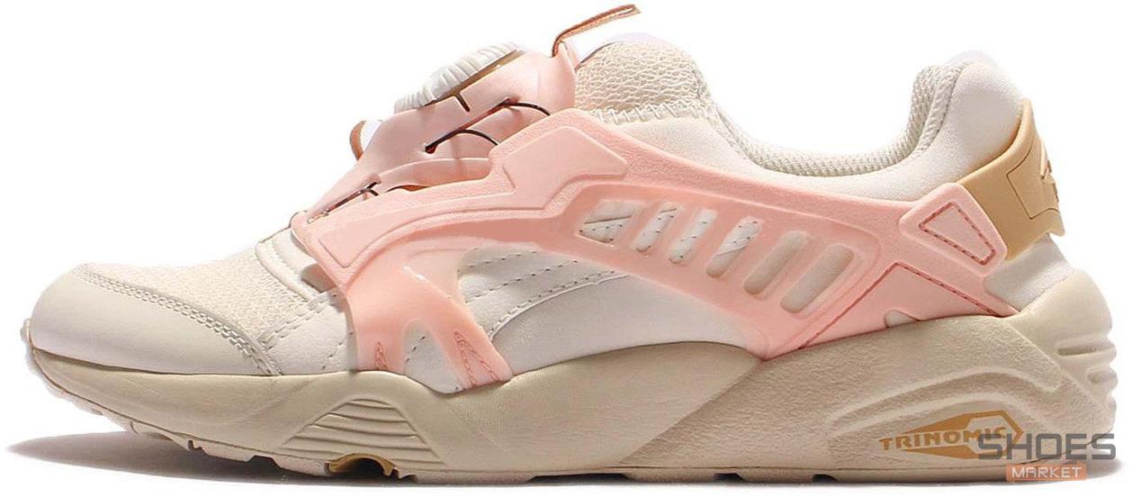Женские кроссовки Puma Disc Blaze CT Beige/Pink 362040-05, Пума Диск Блейз