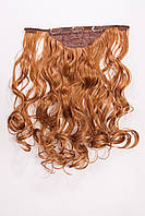 №4.Набор из 1 пряди,цвет рыжий золотистый