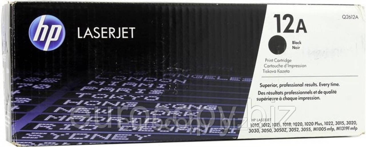 Картридж HP LaserJet 1010 (Q2612A)