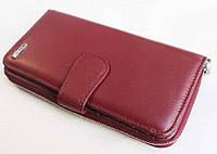 Женский кожаный кошелек Balisa B119-572 bordo Стильный кожаный женский кошелек BALISA