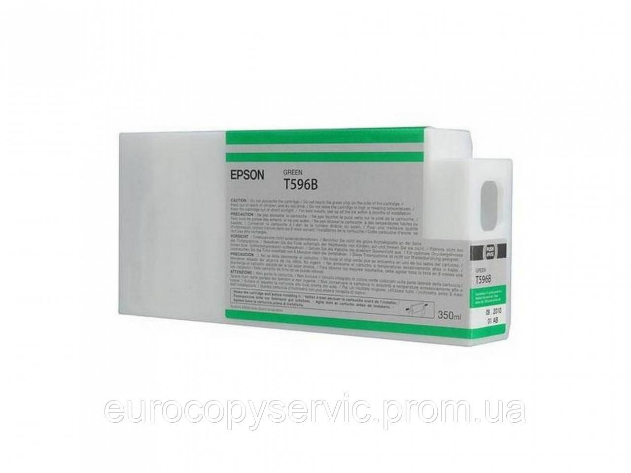 Картридж Epson StPro 7900 / 9900 green 350 мл (C13T596B00)