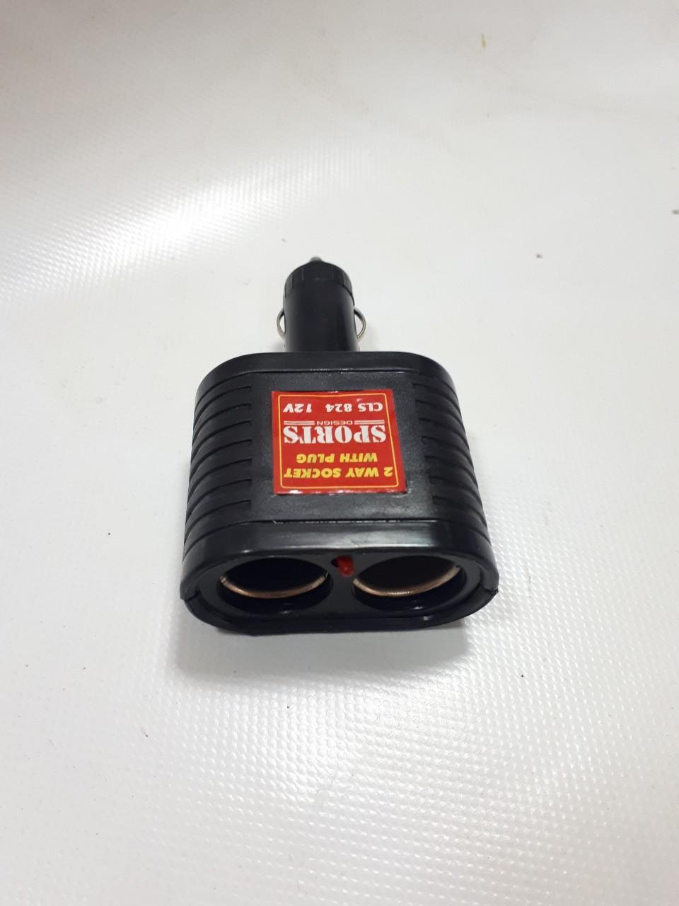 Двойник в прикуриватель CLS-824 Black