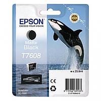 Картридж Epson T760 Matte Black (C13T76084010) Original