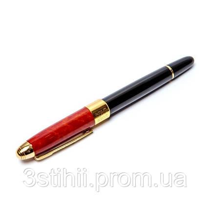 Ручка перьевая DUKE в футляре 89B-F Черно-красная, фото 2