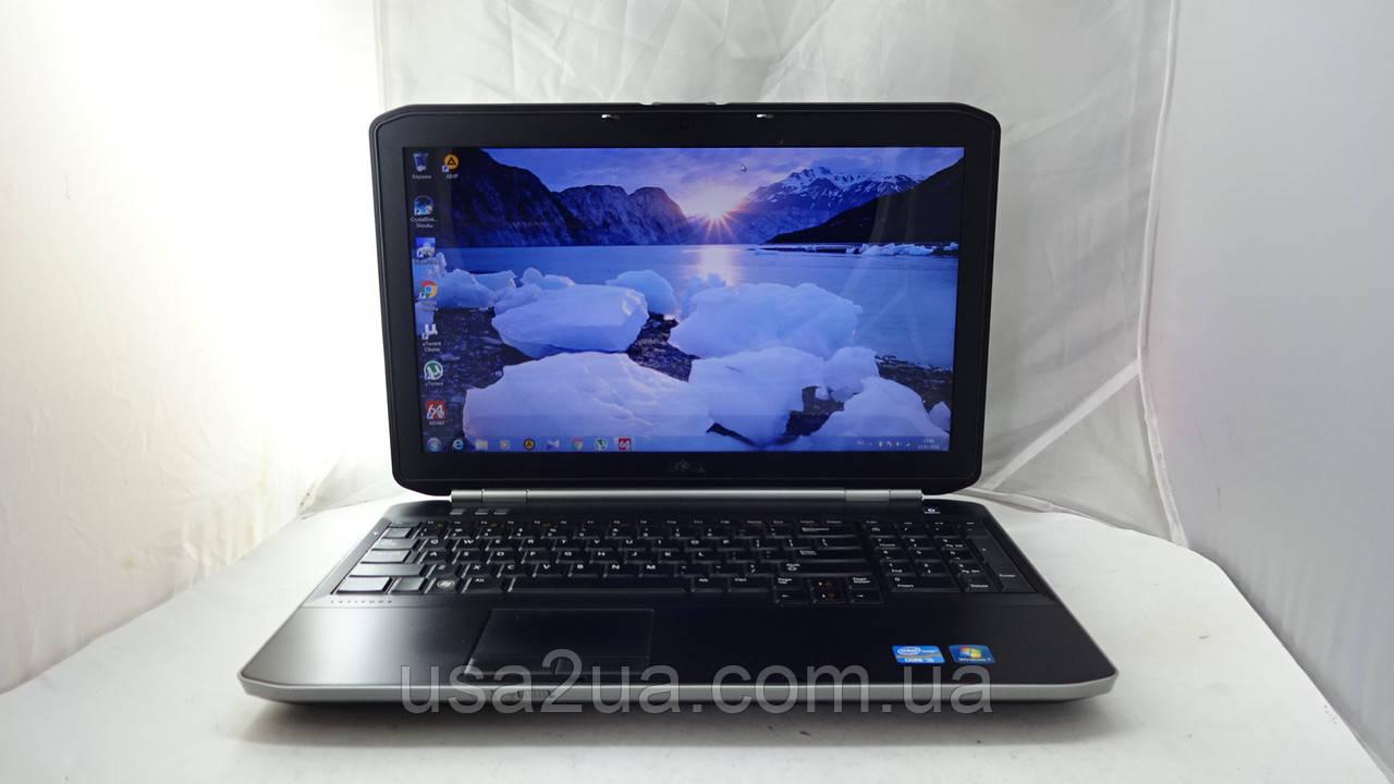 Бизнес Ноутбук Dell Latitude E5520 Core I3 2gen/320Gb/4Gb/WEB Кредит Гарантия Доставка