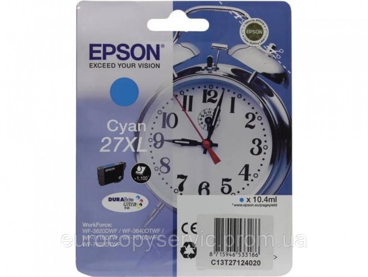 Картридж Epson WF7110 Cyan (C13T27124022)