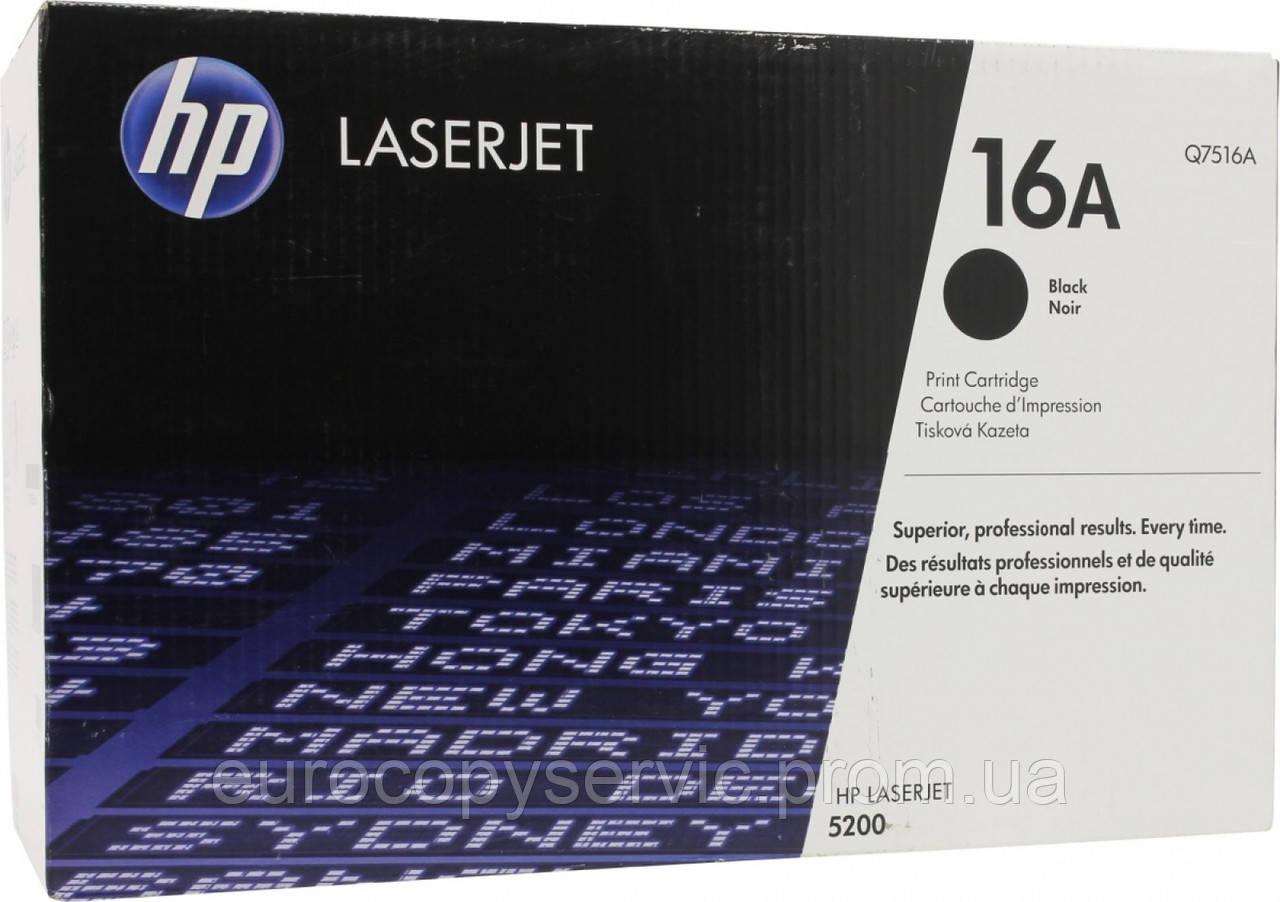 Картридж HP LaserJet 5200 black (Q7516A) Original