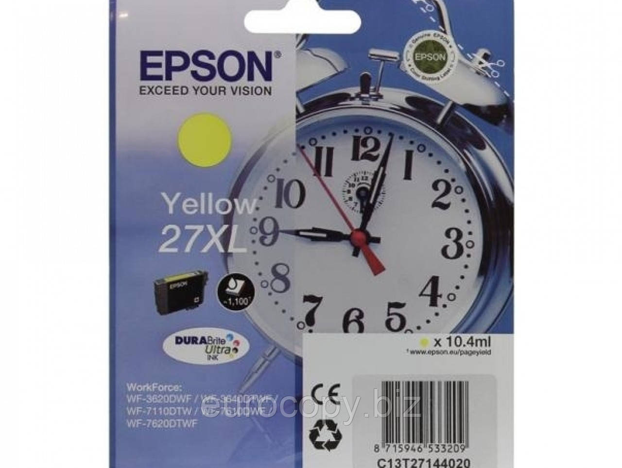 Картридж Epson WF7110 Yellow (C13T27144022)