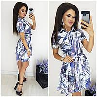 Платье - рубашка женское КБЕ170