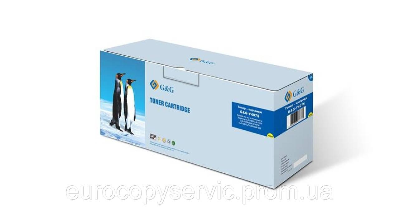 Картридж G&G для Samsung CLP-320/325/CLX-3185 Yellow