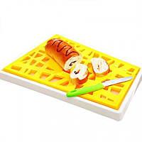 Дощечка для нарізки хлібу (жовтий) / Доска для нарезки Хлеба (Yellow)