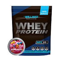 Сывороточный протеин концентрат Willmax Whey Protein 80 (1 кг) вилмакс вей лимонний чизкейк