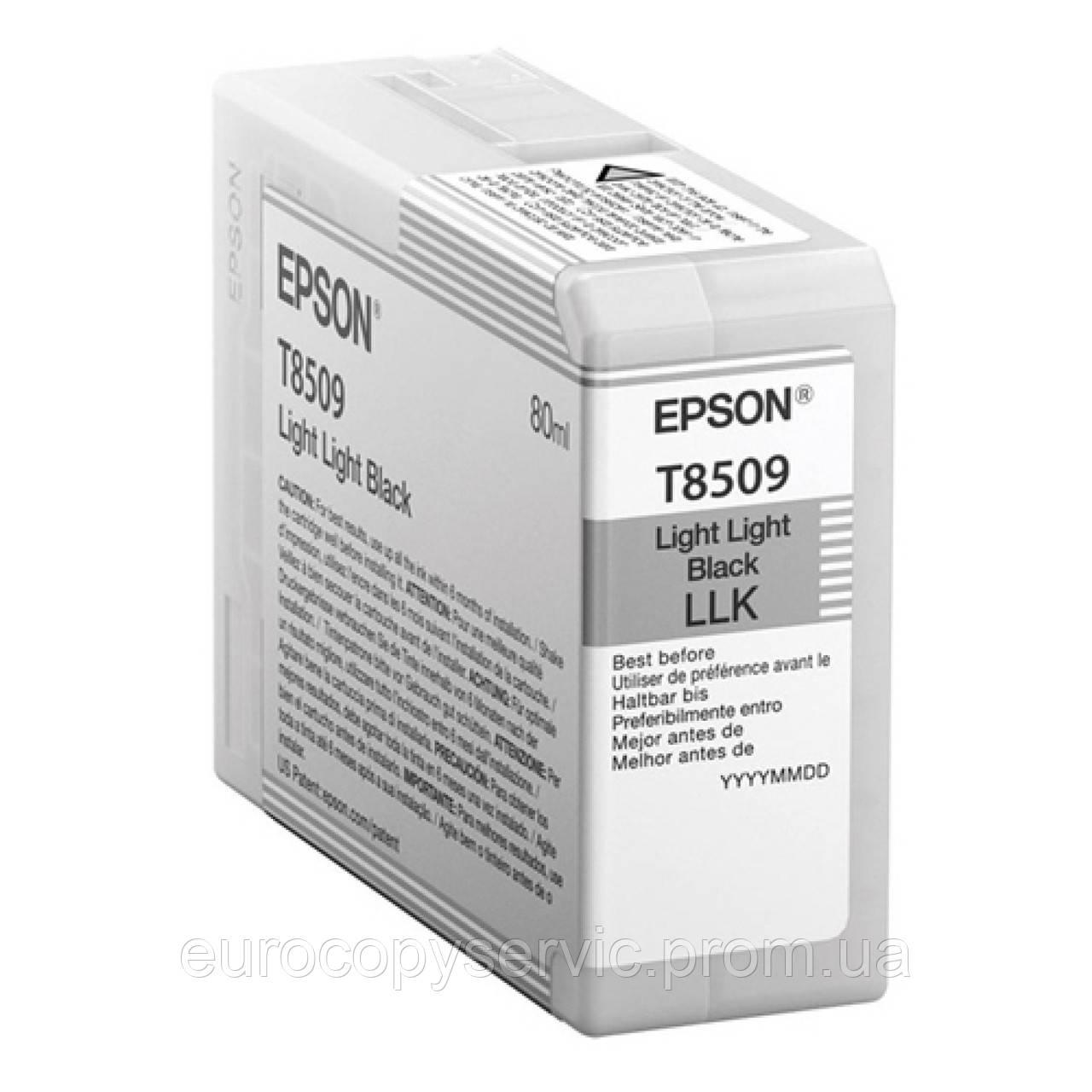 Картридж Epson SureColor SC-P800 Light Grey (C13T850900) Original