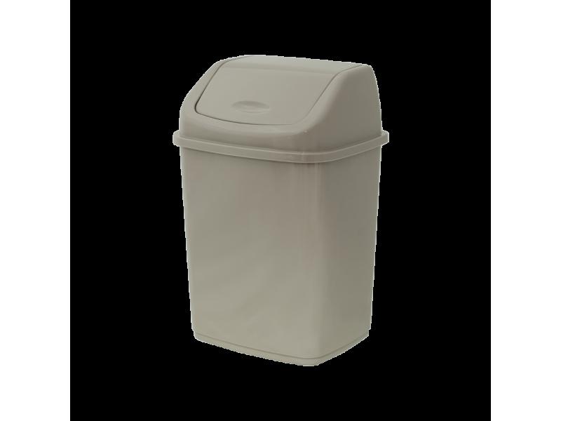 """Ведро для мусора с плавающей крышкой """"Алеана"""" 5 л"""