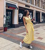 Трикотажное платье из 100% хлопка