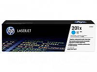 Картридж HP 201X LaserJet M252 Cyan (CF401X)