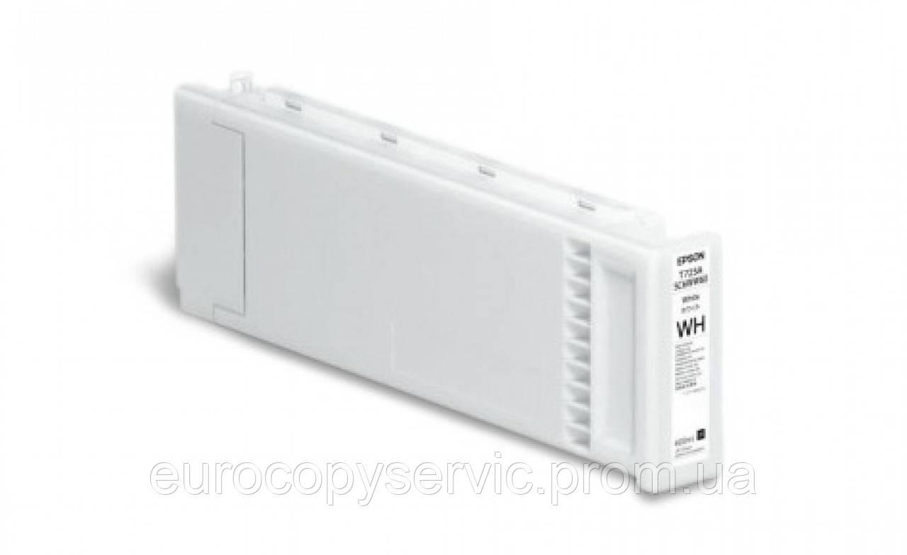 Картридж Epson SC-F2000 White (C13T725A00) Original