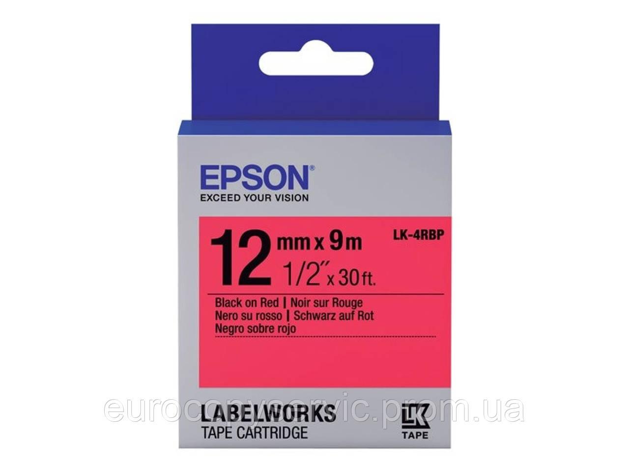 Картридж Epson для LW-300/400/400VP/700 Pastel Black/Red 12mm x 9m (C53S654007)