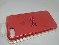 Силиконовый чехол накладка с оригинальным логотипом Apple Silicone Case для iPhone 7 / 8 Red Красный, фото 1