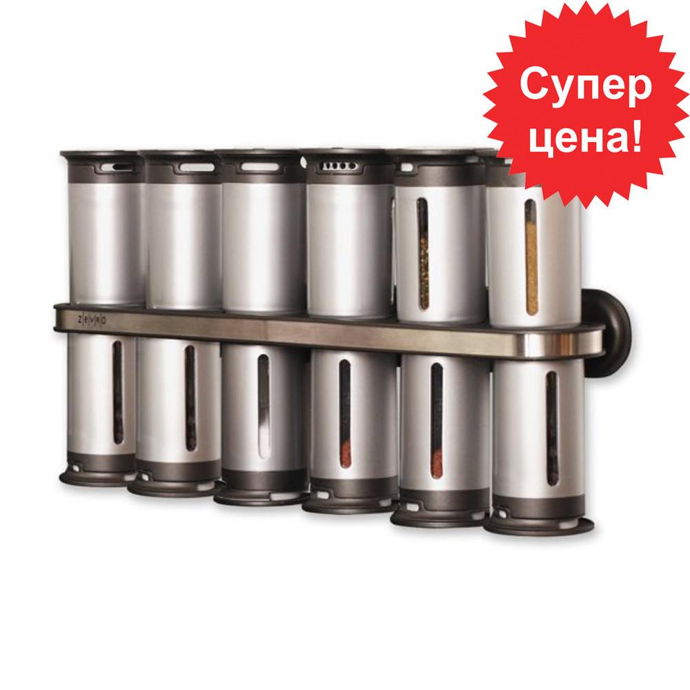 Набір контейнерів для спецій Wall Mounted Magnetic Spice Rack
