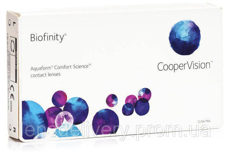 Контактные линзы Cooper Vision Biofinity 6 шт