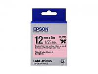 Стрічка для принтера Tape - LK4PBK Ribbon Blk/Pik 1 (C53S654031)