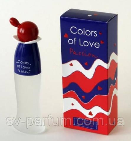 Туалетная вода женская Colors of Love Passion 65ml