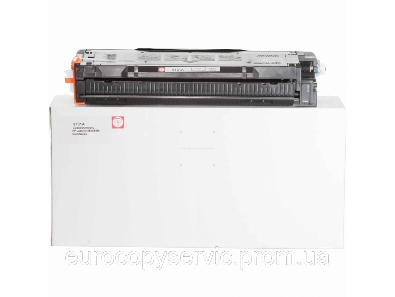 Тонер-картридж BASF для HP CLJ 5500/5550 аналог C9731A Cyan (BASF-KT-C9731A)