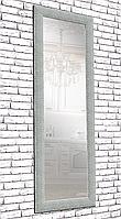Зеркало настенное factura в пластиковом багете 60х174 см сталь, фото 1