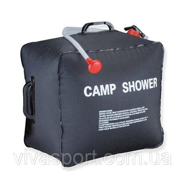 Компактный переносной душ для кемпинга и дачи Camp Shower на 40 литров, душ для туриста Кемп Шавер