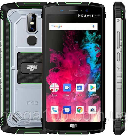 "Смартфон противоударный HOMTOM ZOJI Z11 (IP68, экран 5.99"", памяти 4/64, акб 10000 мАч)"