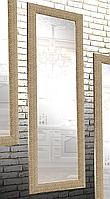 Зеркало настенное в раме Factura Gold cube 60х174 см золотое, фото 1