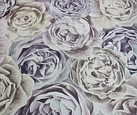 """Обои флизелиновые  """" Розы""""  лилово-капучиновые  1,06 Х 10 – Ерисман 4583-3"""