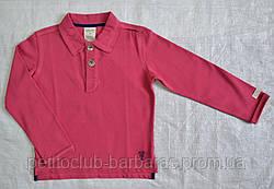 Реглан-поло из органического хлопка темно-розовый (Z&M, Турция)