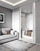Стеклянные раздвижные двери в Скандинавском стиле