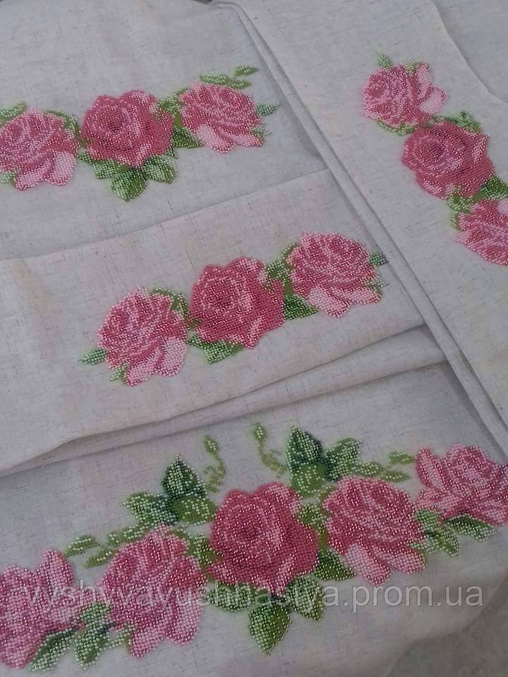 Вышивка на заказ крестиком/бисером мужских/женских/детских сорочек, платьев и прочее. Ручная работа.