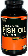 Витамины Optimum Nutrition Fish Oil Softgels 200 caps 6354, КОД: 984630