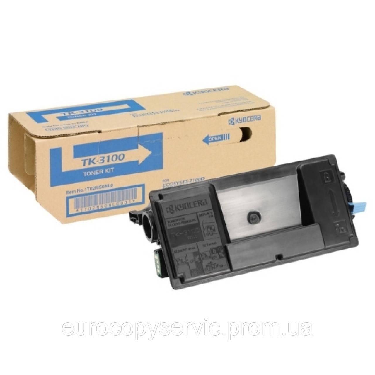 Тонер-картридж Kyocera TK-3100 Black (1T02MS0NL0) Original