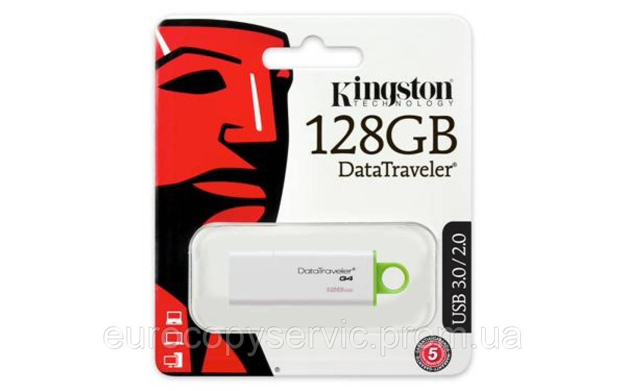 Накопичувач USB 3 Kingston DTI Gen.4 128GB (DTIG4/128GB) (DTIG4/128GB)