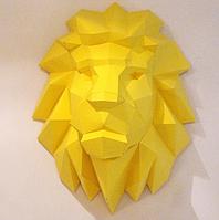 Лев 3Д модель papercraft