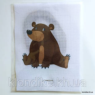 """Набор для вышивания крестом """"Мишка"""", 19×14 см"""