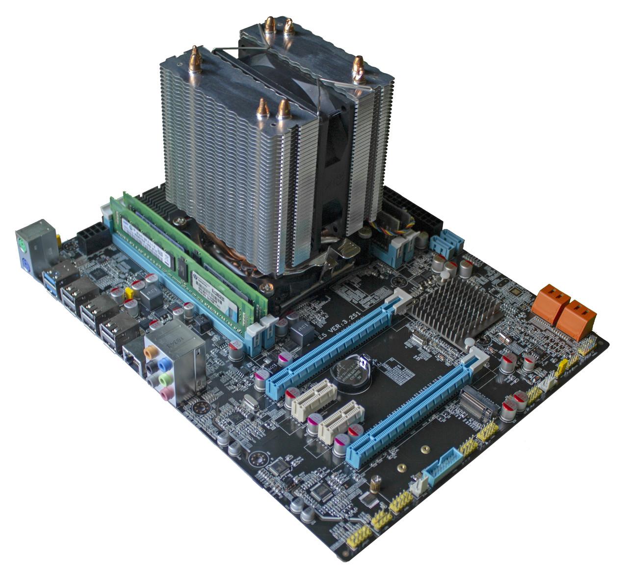 Комплект X79Z-2.4F + Xeon E5-2670v2 + 16 GB RAM + Кулер, LGA 2011