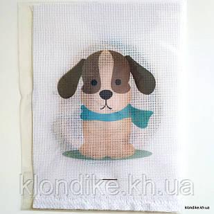 """Набор для вышивания крестом """"Собачка"""", 19×14 см"""