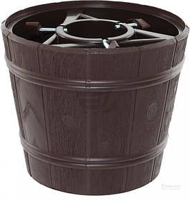 Стойка для елки Form-Plastic Ведро 25.5 см Коричневая