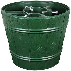 Подставка для елки Form-Plastic Planet Ведро 29.5 см зеленая