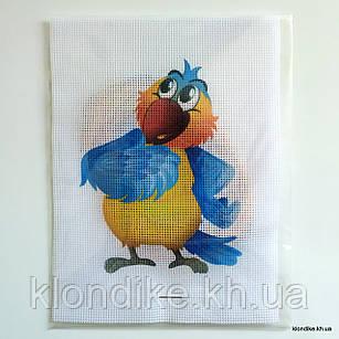 """Набор для вышивания крестом """"Попугай"""", 19×14 см"""